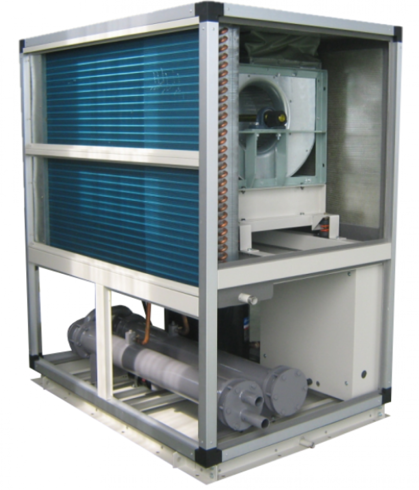 Floor Standing Water Cooled Package Air Conditioners Swpu